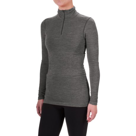 The North Face Go Seamless Shirt - Zip Neck, Long Sleeve (For Women)