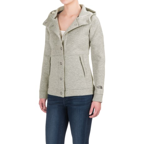 The North Face Thermal 3D® Snap-Front Hoodie (For Women)