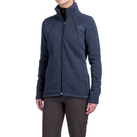 The North Face Crescent Knit Jacket - Full Zip (For Women)