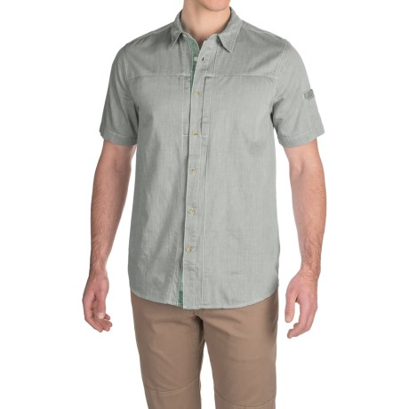 Gramicci Chambray Oxford Shirt - Short Sleeve (For Men)