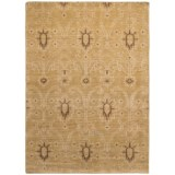 Kaleen Restoration Collection Area Rug - 4x6', Hand-Knotted Wool