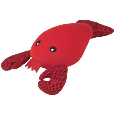 PetRageous FloatRageous Louie the Lobster Dog Toy