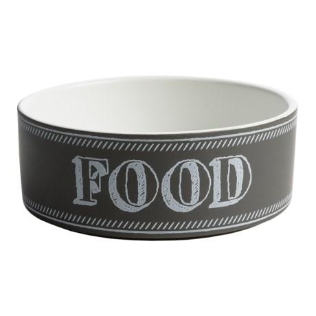 "PetRageous Chalkboard Food Bowl - 6"""
