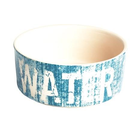 "PetRageous Weathered Water Dog Dish - 7"""