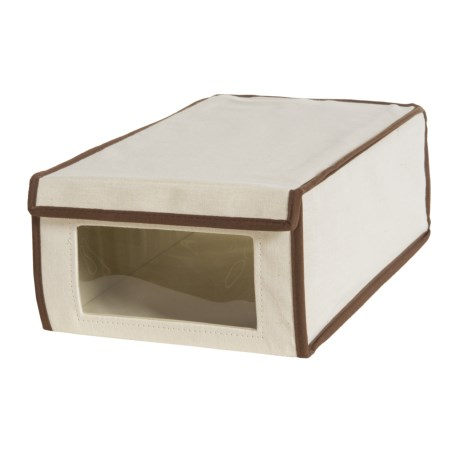 Honey Can Do Canvas Shoe Storage Box