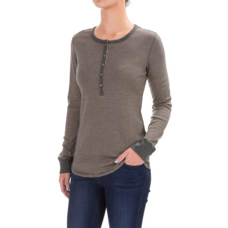 Royal Robbins Kick Back Striped Henley Shirt - UPF 50+, Long Sleeve (For Women)