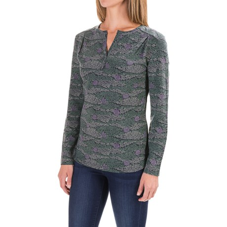 Royal Robbins Essential Printed Henley Shirt - UPF 50+, Long Sleeve (For Women)