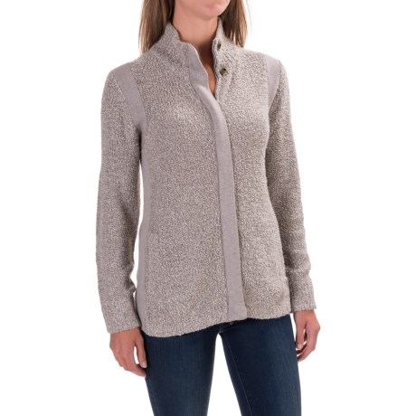 Royal Robbins Bella Boucle Cardigan Sweater - Zip Front (For Women)