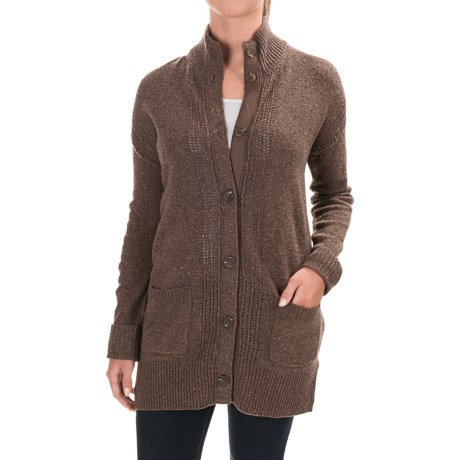 Royal Robbins First Fleet CarSweater Coat - Merino Wool (For Women)