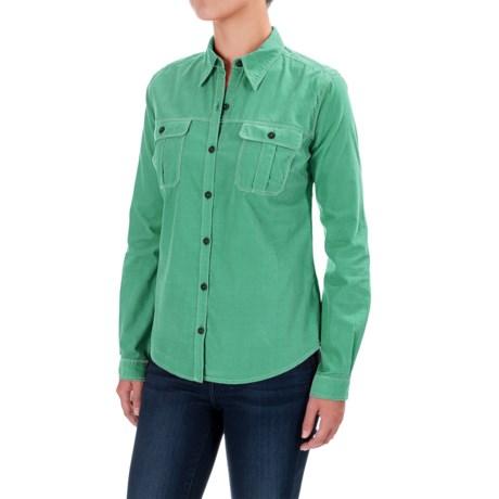 Royal Robbins Cascade Corduroy Shirt - Long Sleeve (For Women)