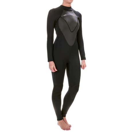 Hyperflex Cyclone2 Flatlock Full Wetsuit - 3/2mm, Long Sleeve (For Women)