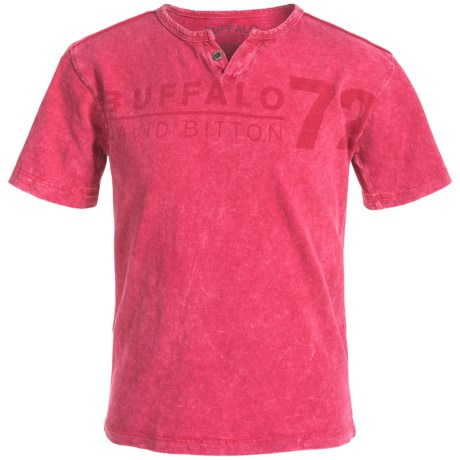 Buffalo David Bitton Naroo T-Shirt - Short Sleeve (For Big Boys)
