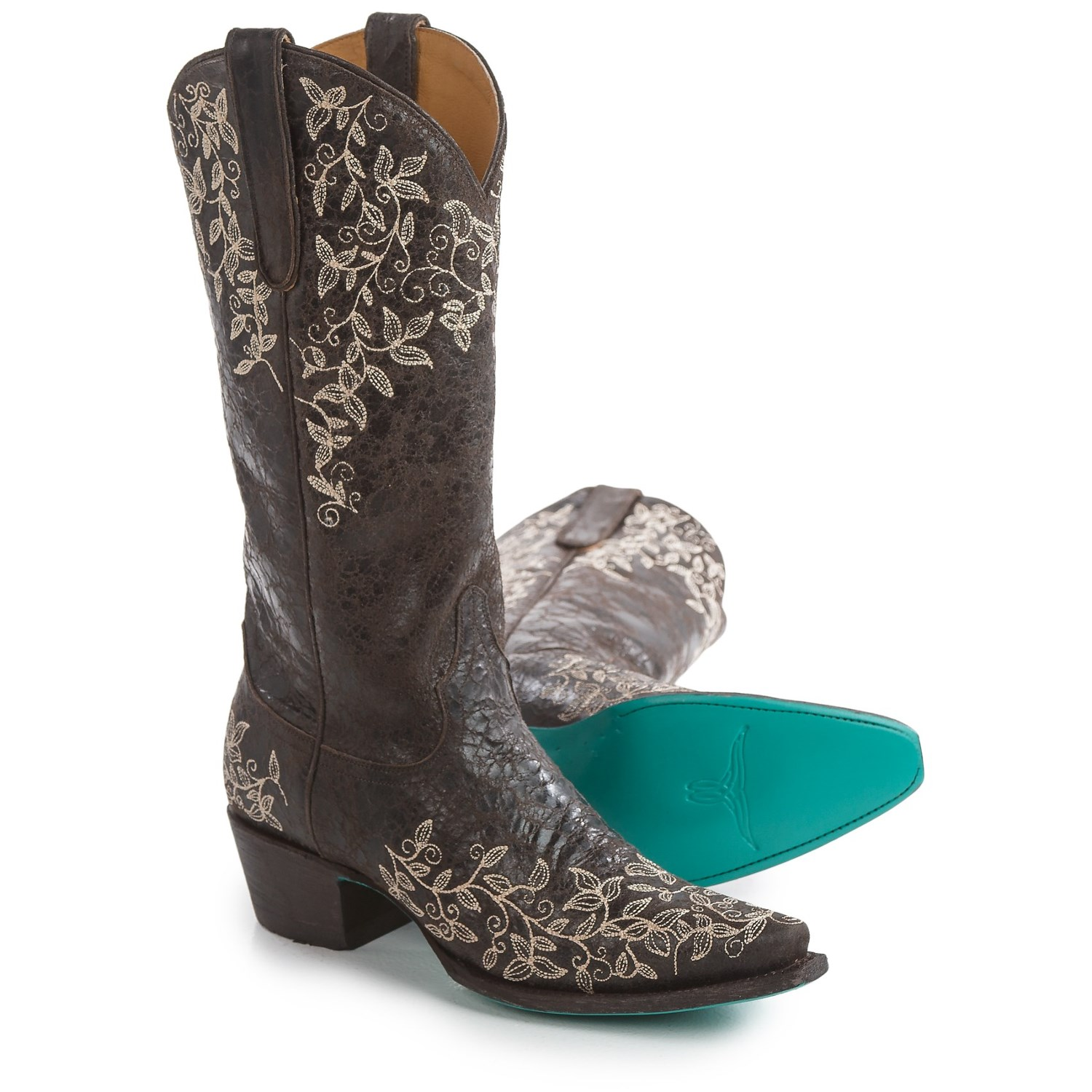 boots madeleine embroidered cowboy boots for