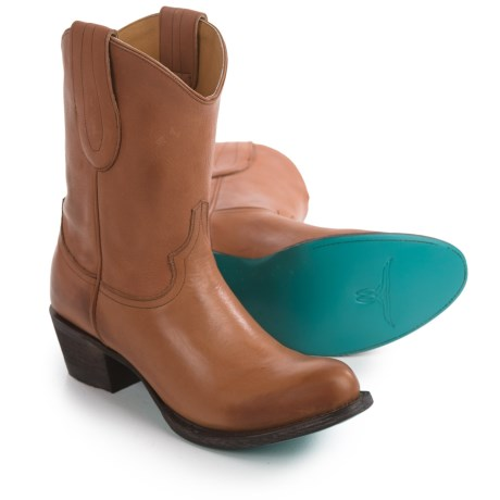 Lane Boots Rock Studdie Cowboy Boots - Leather (For Women)