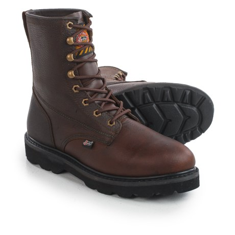 "Justin Boots Original 8"" Work Boots - Lace-Ups (For Men)"