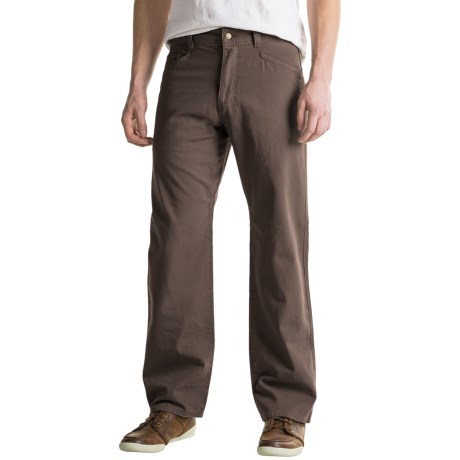 Royal Robbins Billy Goat® Canvas Pants - UPF 50+, 5-Pocket (For Men)