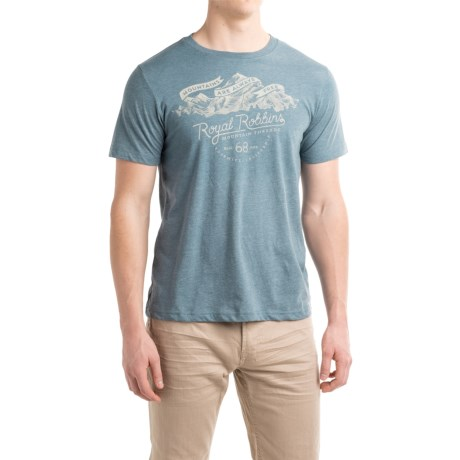 Royal Robbins Mountains Are Free T-Shirt - Crew Neck, Short Sleeve (For Men)