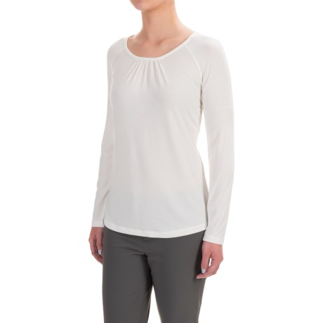 Royal Robbins Essential TENCEL® Shirt - UPF 50+, Scoop Neck, Long Sleeve (For Women)