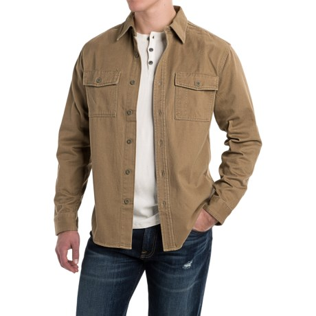 Royal Robbins Brushed Back Work Shirt - UPF 50+, Long Sleeve (For Men)