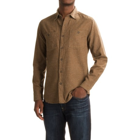 Royal Robbins Bristol Tweed Flannel Shirt - UPF 50+, Long Sleeve (For Men)