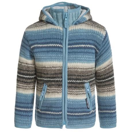 Laundromat Monaco Zip Sweater (For Little Girls)