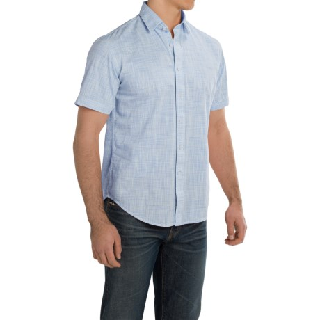 James Campbell Bistro Shirt - Cotton, Short Sleeve (For Men)