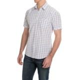 James Campbell Cavett Plaid Shirt - Cotton, Short Sleeve (For Men)