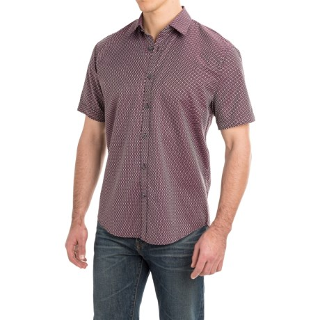 James Campbell Padre Shirt - Cotton, Short Sleeve (For Men)