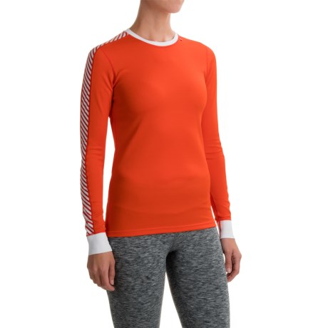 Helly Hansen Helly Hanson HH Dry Base Layer Top - Crew Neck, Long Sleeve (For Women)