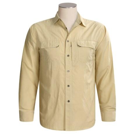 White Sierra Cancun Mini-Check Shirt - UPF 30, Long Sleeve (For Men)