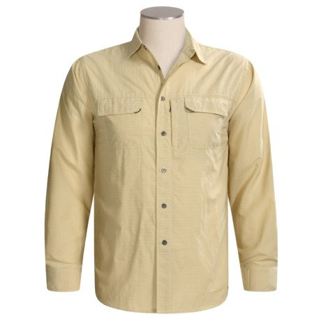 White Sierra Cancun Mini-Check Shirt - UPF 30, Long Sleeve (For Men)