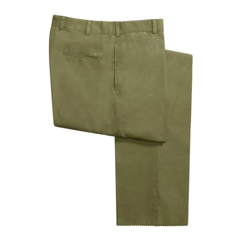 Bills Khakis M2 Poplin Pants - Flat Front (For Men)