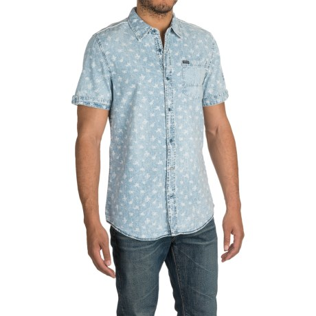 Buffalo David Bitton Samson Shirt - Short Sleeve (For Men)