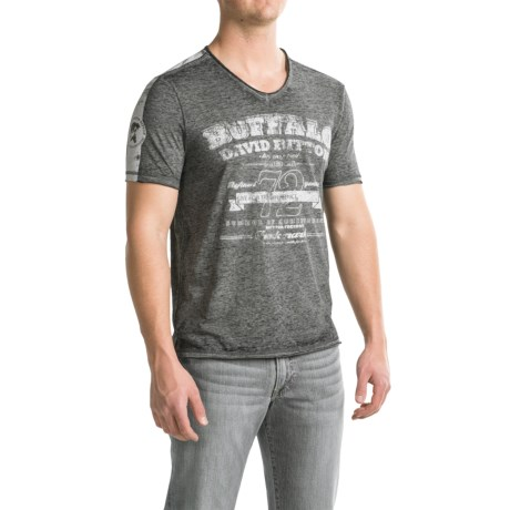 Buffalo David Bitton Nielsen T-Shirt - Short Sleeve (For Men)