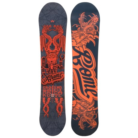 Rome Label Snowboard (For Youth)