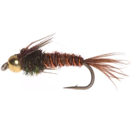 Montana Fly Company Tung Head Flashback Pheasant Tail Nymph Fly - Dozen