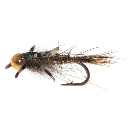 Montana Fly Company Beadhead Rubber Leg Epoxy Hare's Ear Nymph Fly