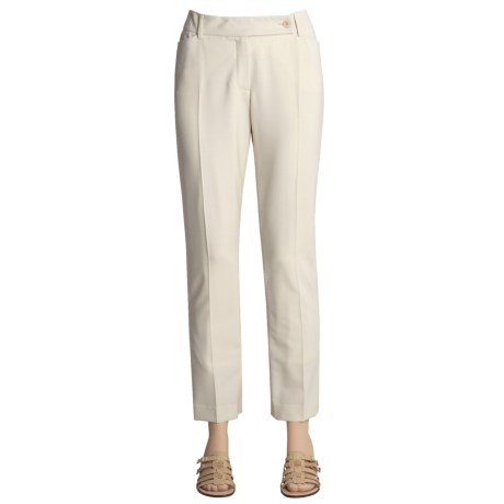 Peace of Cloth Panticular Julia Cigarette Pants - Tapered Leg (For Women)