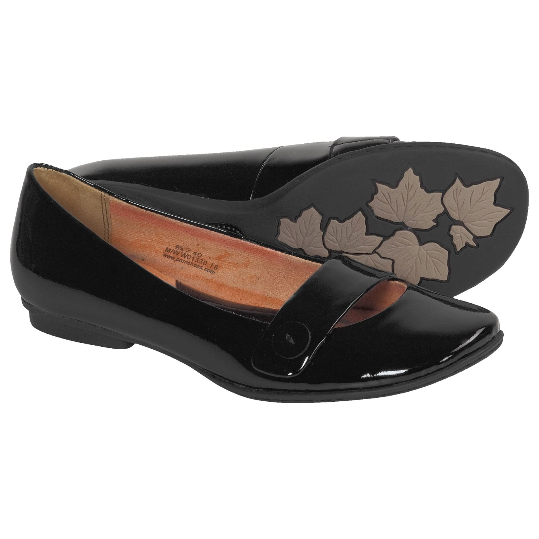 Born Shoes Flats Black
