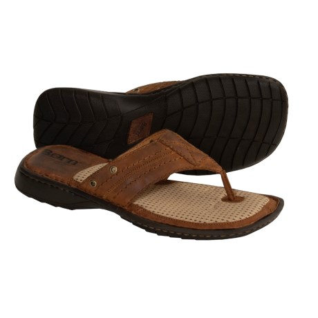 Born Trail Thong Sandals - Leather (For Men)