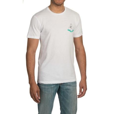 Vissla DaFin Double Fin T-Shirt - Short Sleeve (For Men)