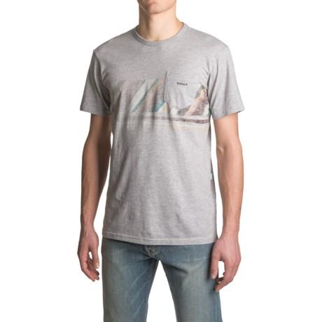 Vissla Horizon Lines T-Shirt - Short Sleeve (For Men)