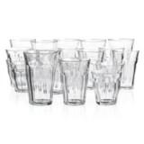 Duralex Picardie Clear Glass Tumblers - Set of 18