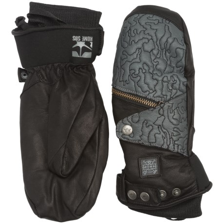Rome Bowery Mittens - TechLeather, PrimaLoft® (For Men)