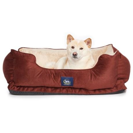 "Serta Orthopedic Cuddler Dog Bed - 34x24x8"""