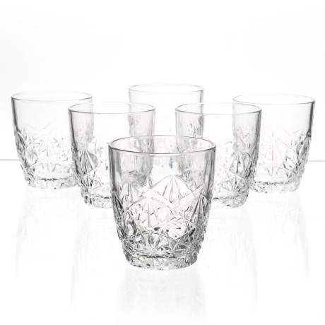 Bormioli Rocco Dedalo Double Old-Fashioned Glasses - Set of 6