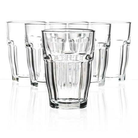 Bormioli Rocco Rock Bar Cooler Glasses - Set of 6