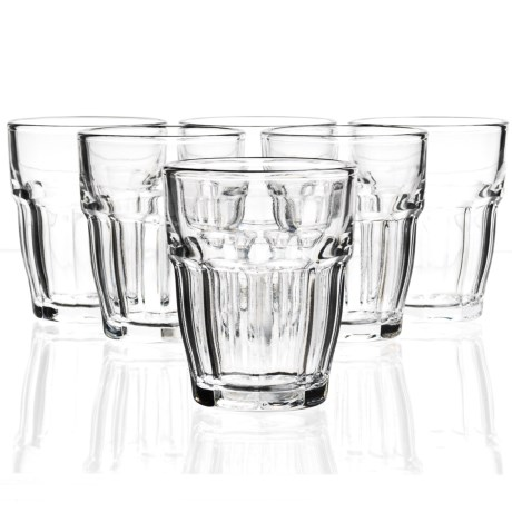 Bormioli Rocco Rock Bar One Shot Glasses - Set of 6