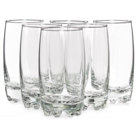 Bormioli Rocco Galassia Beverage Glasses - 14 fl.oz., Set of 6
