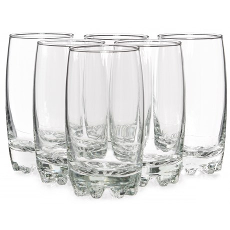 Bormioli Rocco Galassia Beverage Glasses - 14 fl.oz., Set of 6